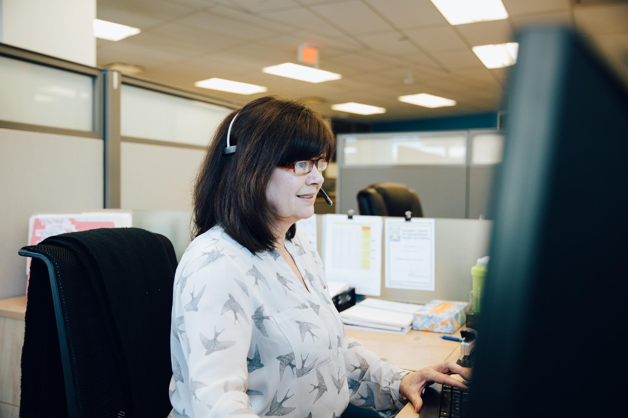 ICONIX-call-centre-representative