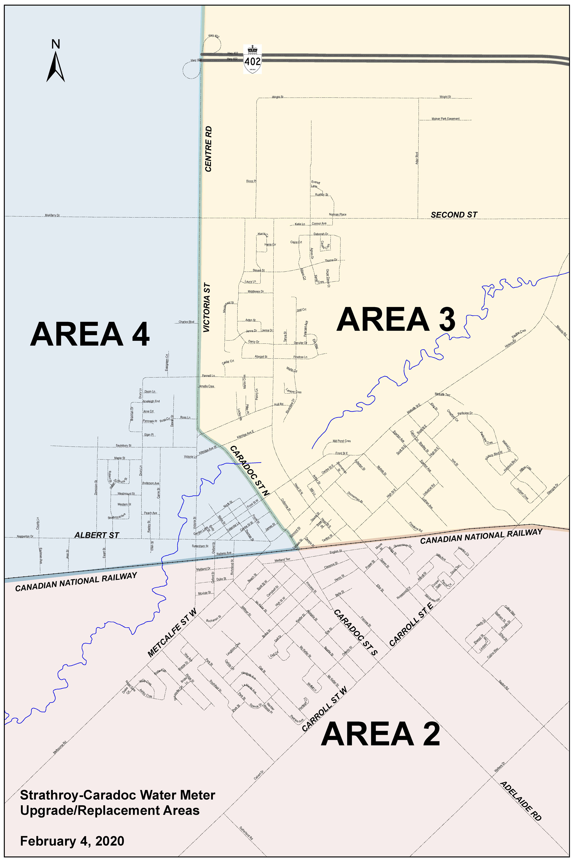 Areas 2-4
